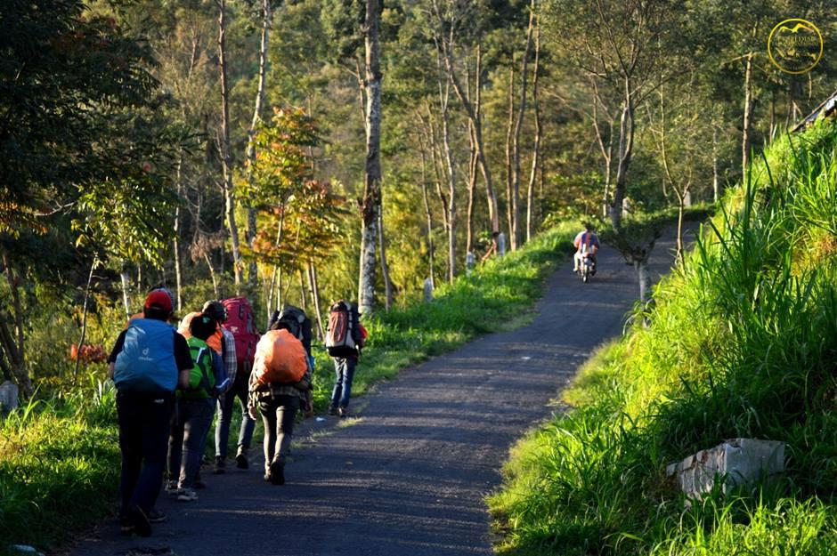 Pendakian Merapi Via Selo